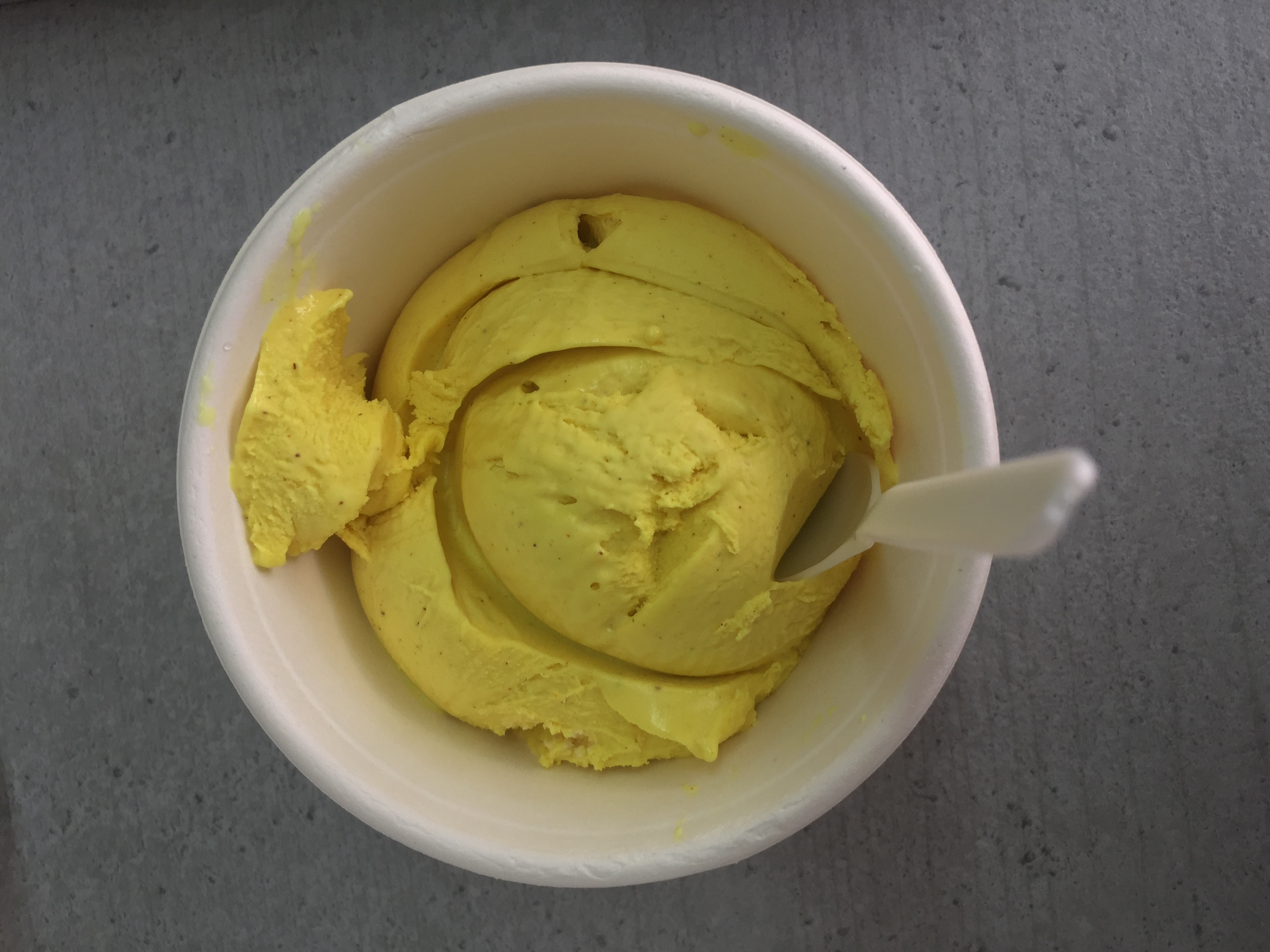Turmeric Ice-Cream